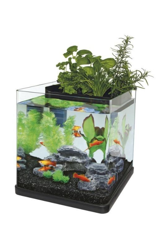 Akvárium Superfish AQUAPONICS 23 černé