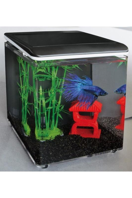Akvárium Superfish Home 8  (černé)