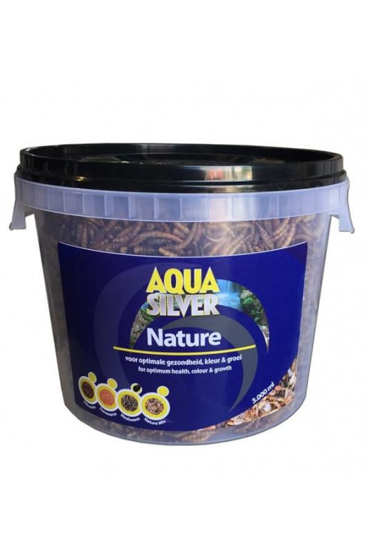 Aqua silver mouční červi 3 l