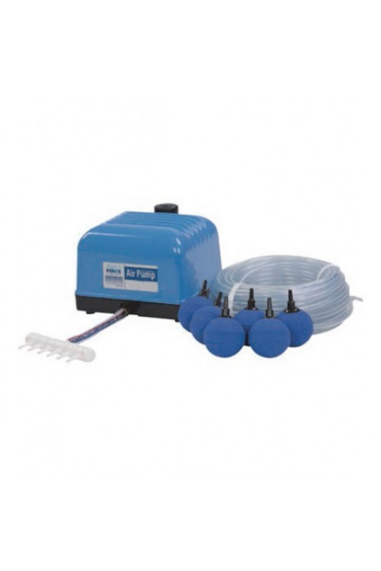 AquaForte Hi-Flow Air Pump V-20 Set