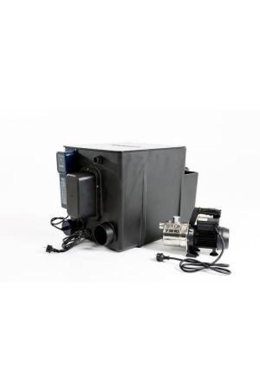 Filtrace s biologií a UV-C lampou pro jezírko do 20000 l čerpadlové zapojení