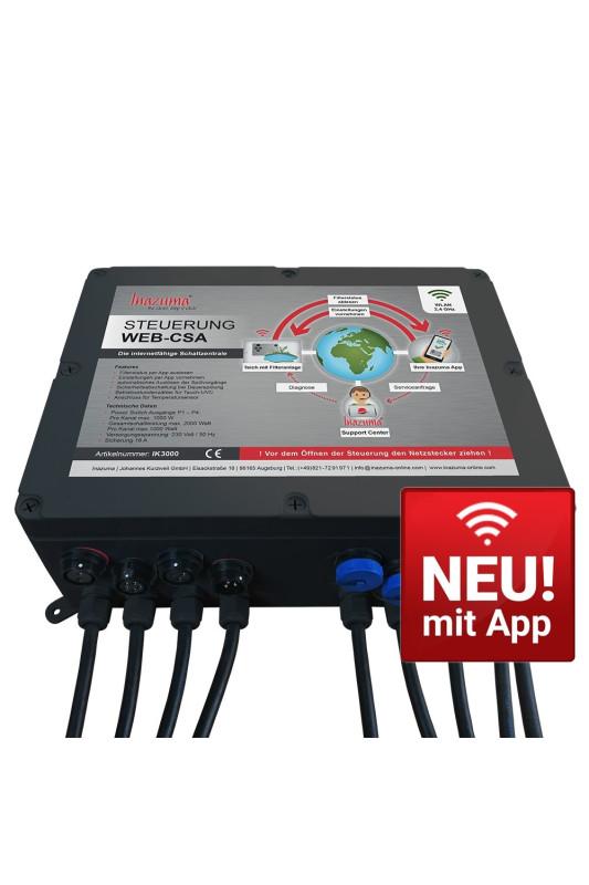 Inazuma Power Switch WebCSA pro ovládání