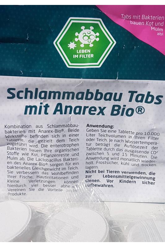 Koi Tabs s bakteriemi degradujícími kal a Anarex-Bio® 1 ks