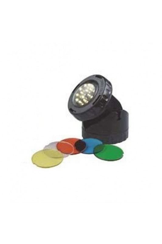 Led lamp 1,6 Watt + color disks