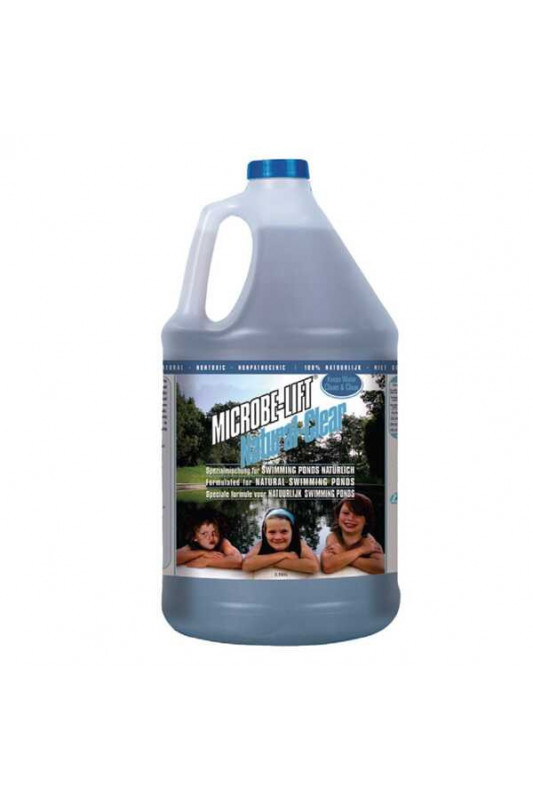 Microbe Lift® Natural-Clear speciální receptura pro koupací jezírka 4l