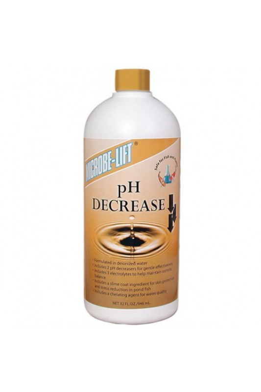 Microbe-Lift pH Decrease 1 Ltr. (PH-)