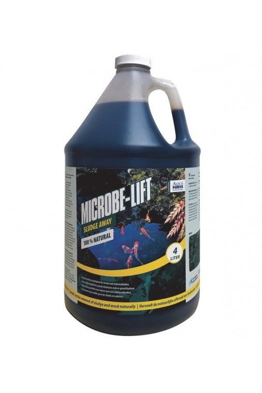 MICROBE-LIFT SLUDGE AWAY (ODKALOVAČ) 4 LTR.