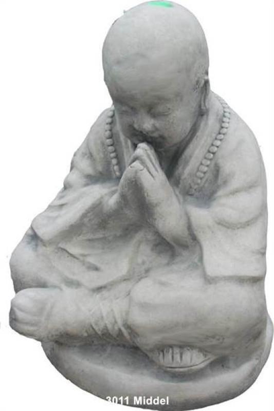 Modlící se mnich střední