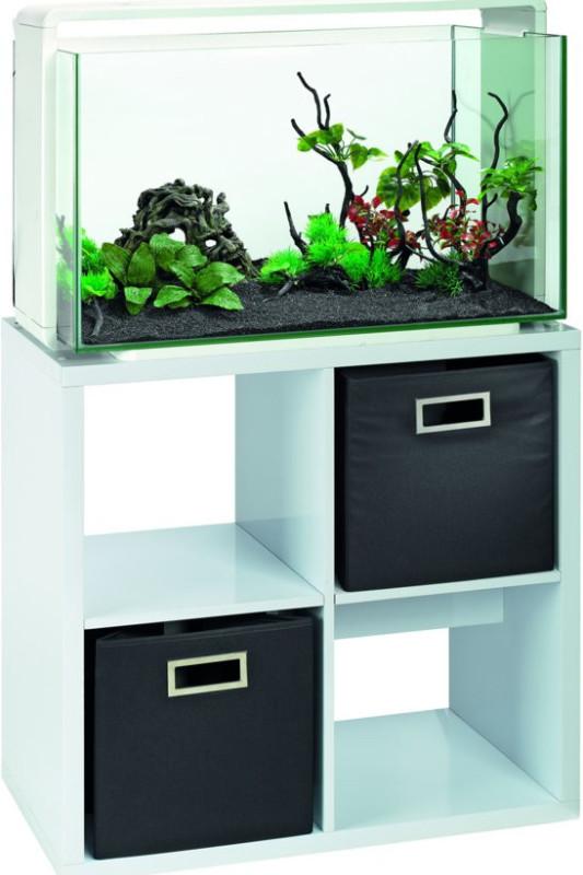 Nábytek pod akvária Superfish Home 100/ bílý /4 police