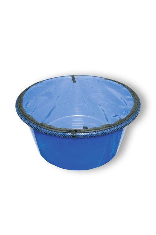 Neprůhledný fóliový kryt se zipem pro ovládací vanu 80 cm