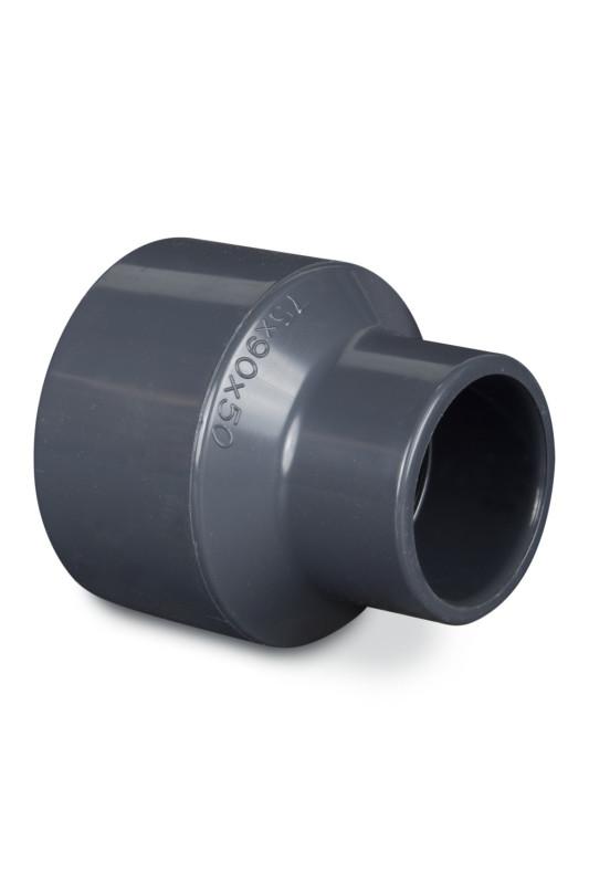 PVC redukce 90/100x63mm