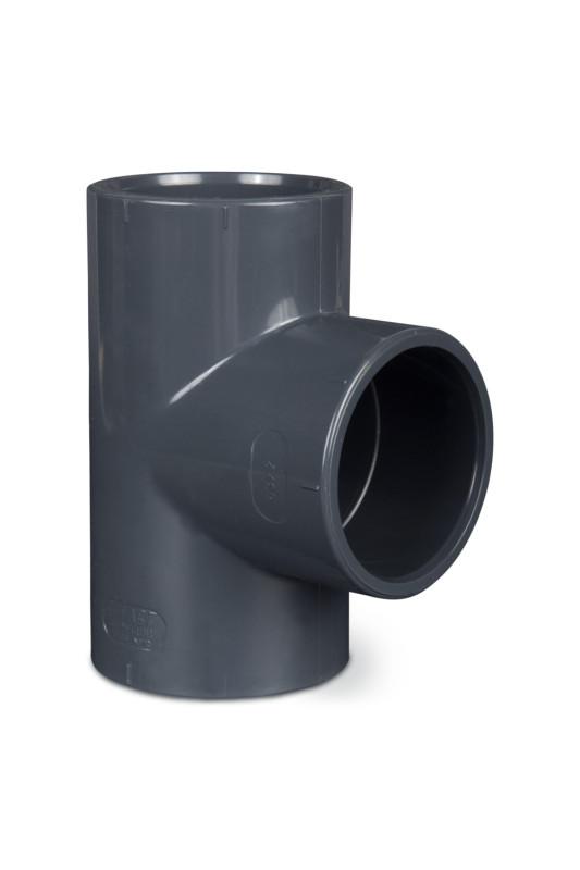 PVC T-kus  90° 75mm
