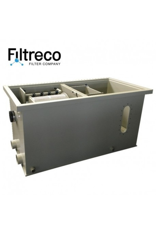 Filtreco Combi Drum Filter 25 pumping