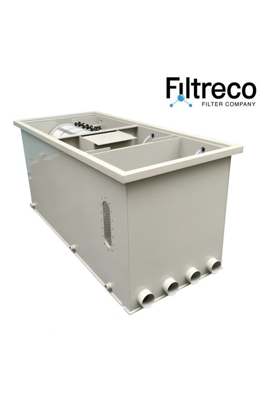 Filtreco Combi Drum Filter 55 pumped