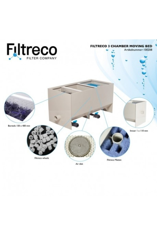 Filtreco Filter 3 Chamber Moving Bed
