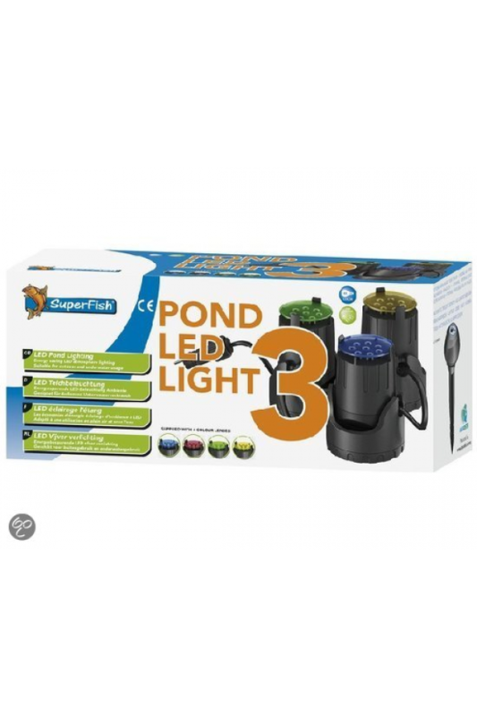 SuperFish  POND LED LIGHT 3X