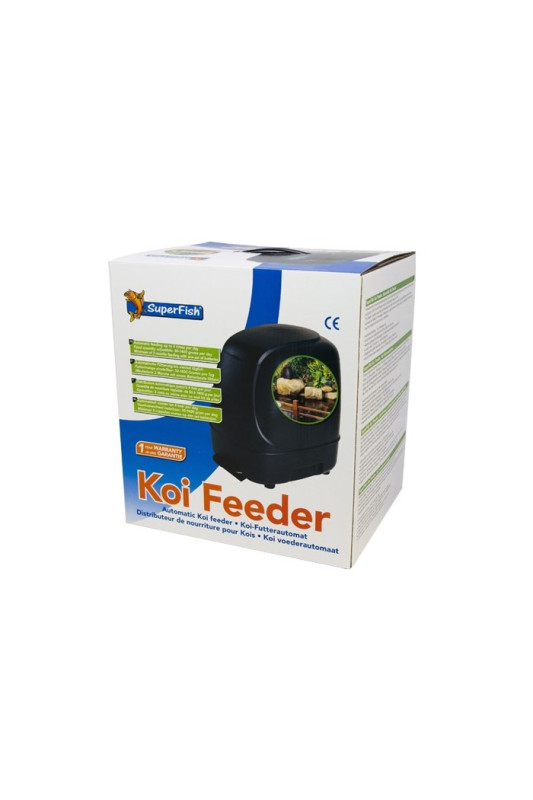 Krmítko SUPERFISH KOI FEEDER 10L