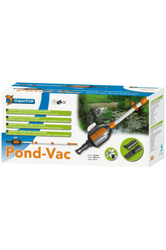 SuperFish vysavač Pond Vac