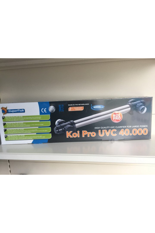 SuperFish KOI PRO RVS UVC T5 40 W / 40.000 LTR