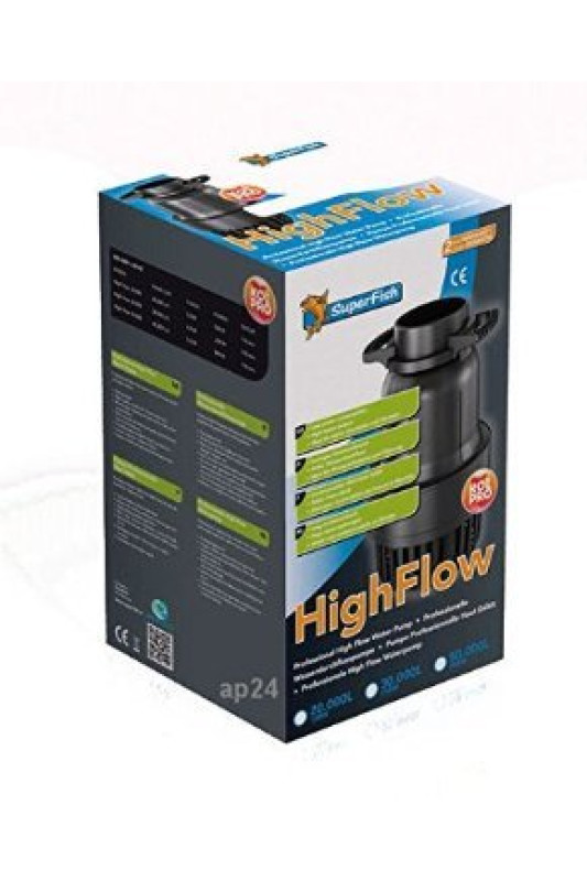 SuperFish POND  HIGH FLOW PUMP 30.000 / 235W trubkové čerpadlo