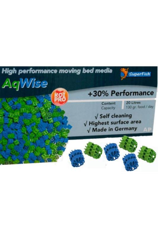 SuperFish POND AQWISE plovoucí filtrační médium 20 L PRO