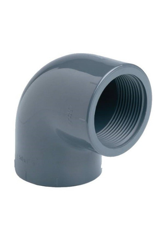 PVC Koleno 90 ° 63mm x 2