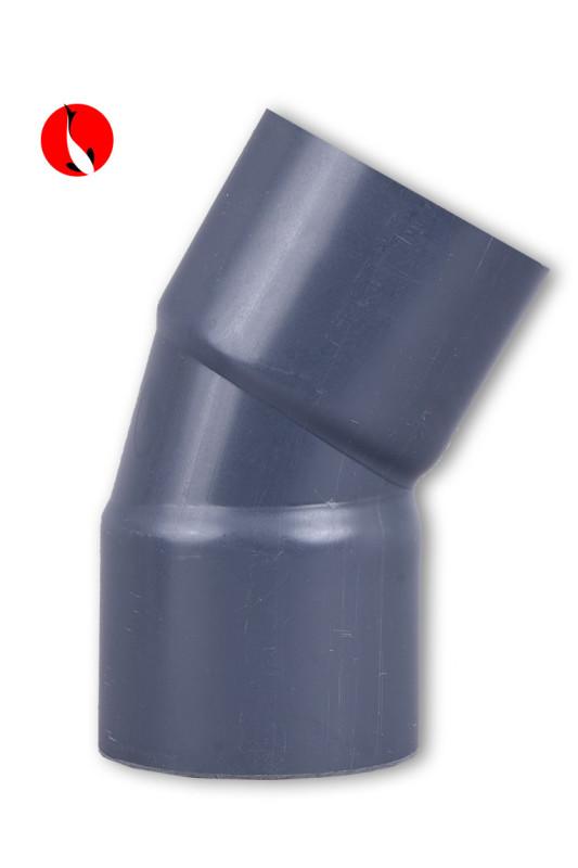 PVC oblouk 30 ° 110mm