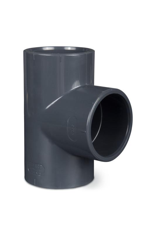PVC T-kus  90° 90mm