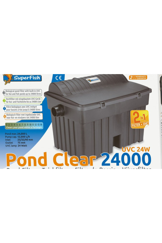 SF POND CLEAR 24000 UVC-24W