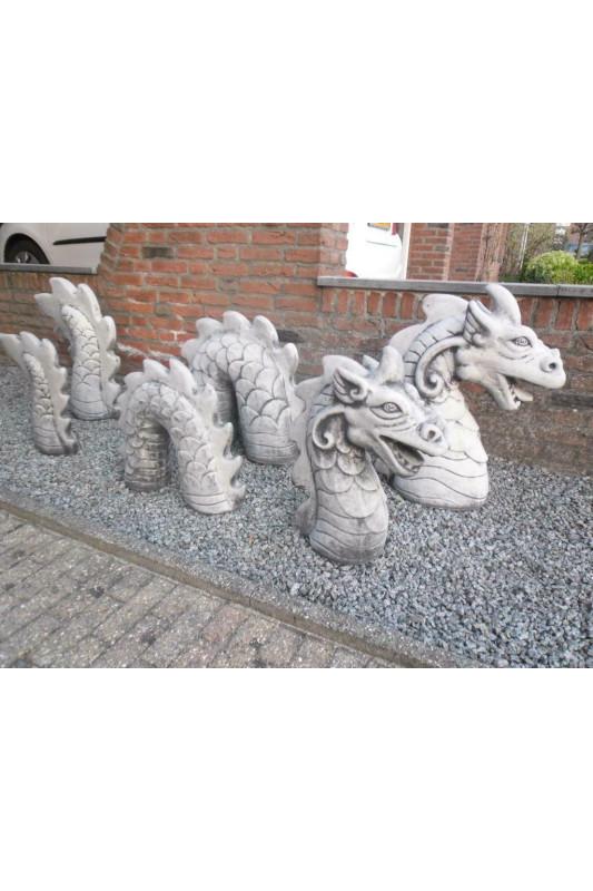 Socha draka 3 části střední
