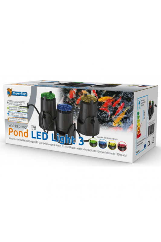SuperFish  POND LED LIGHT 3X
