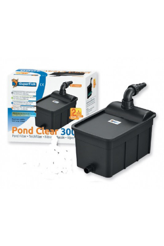 SuperFish POND CLEAR  3000 UVC 5W 2 v 1