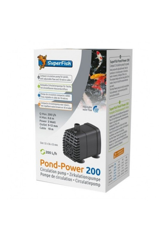 SuperFish Pond-Power 200