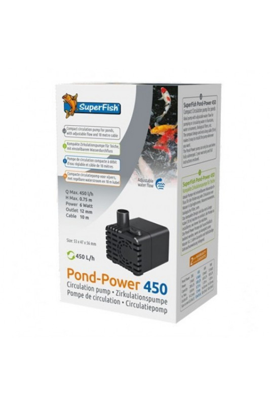 SuperFish Pond-Power 450