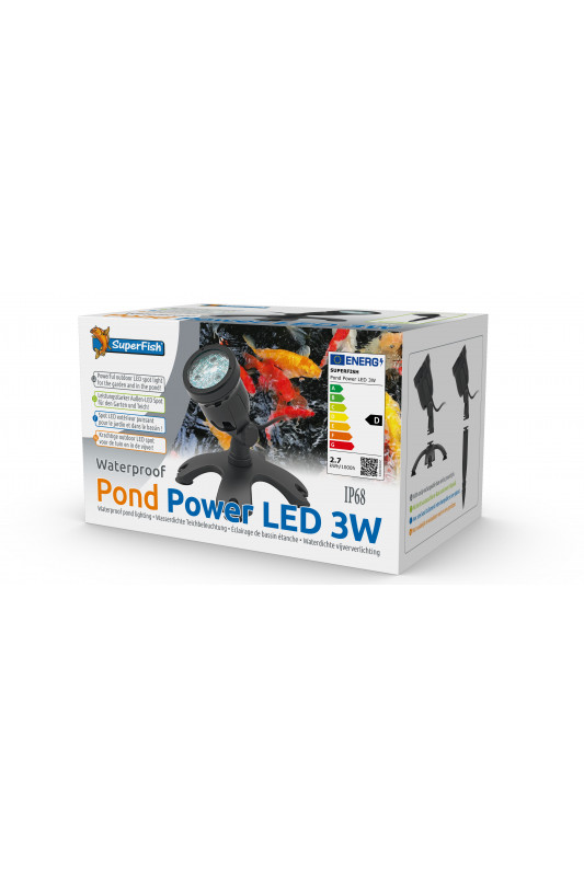 SUPERFISH POND POWER LED 3W