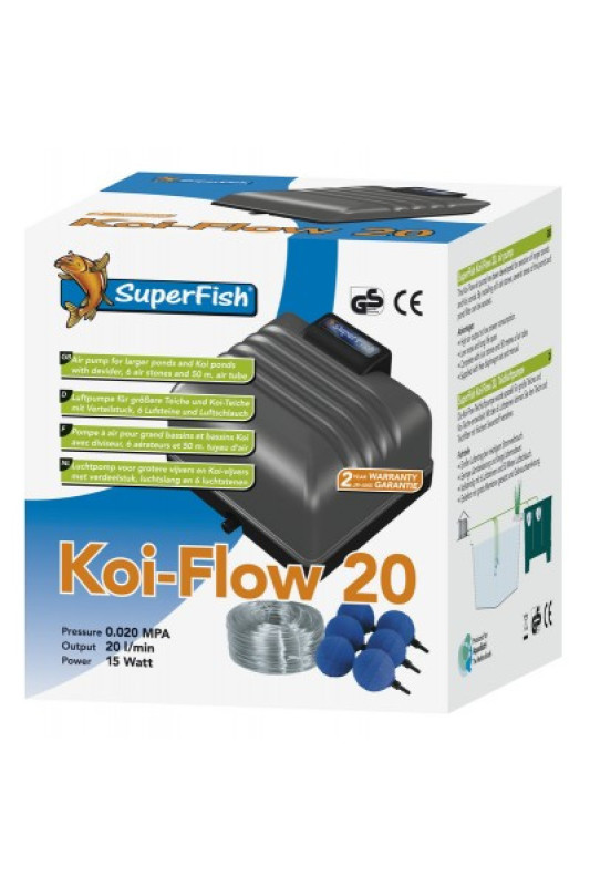 SUPERFISH KOI FLOW 20 PROF